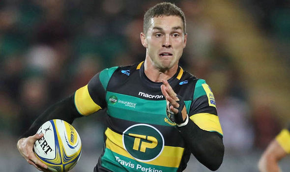 George North was a try-scorer against Leicester