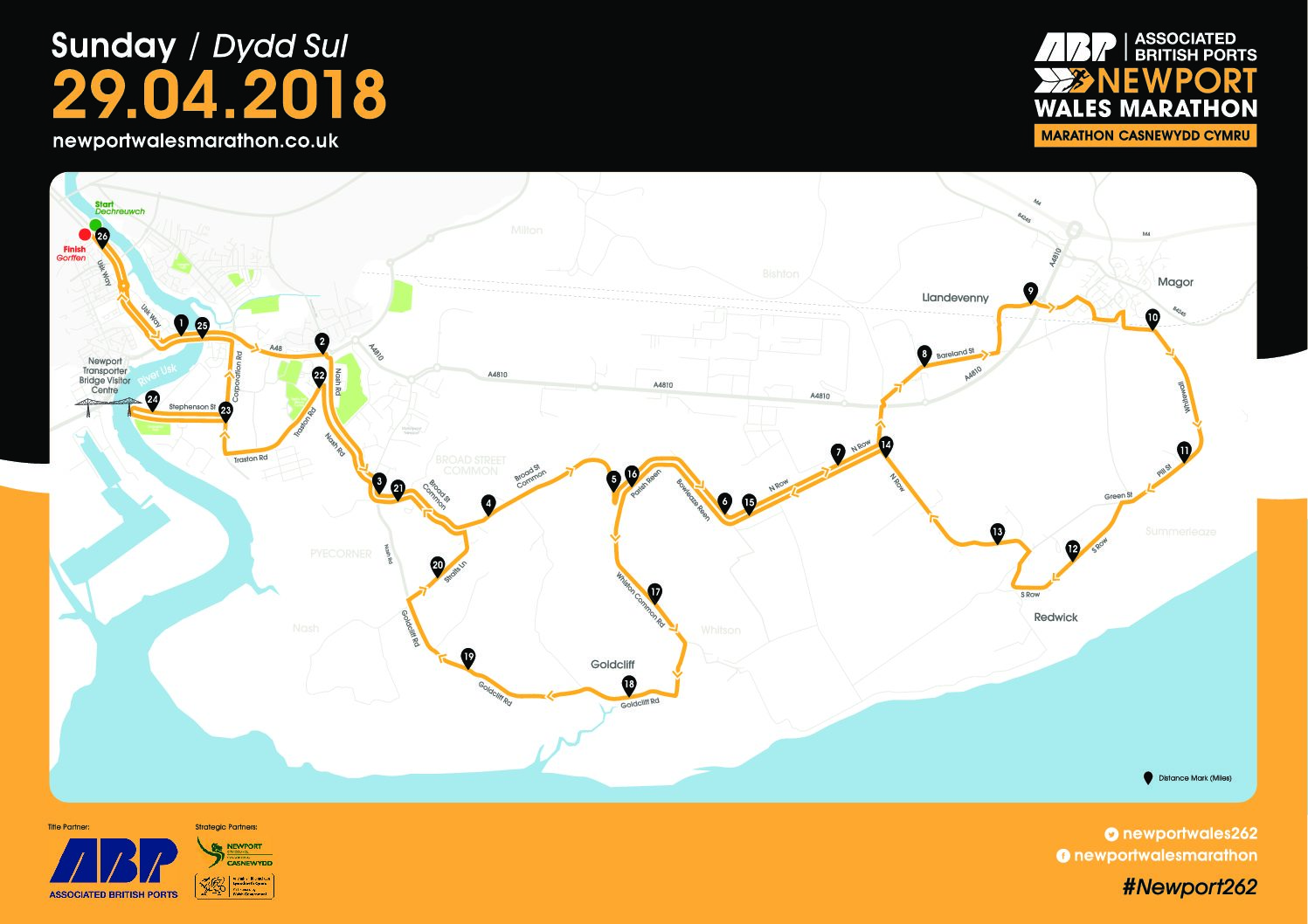 Newport Marathon Route Revealed Dai Sport