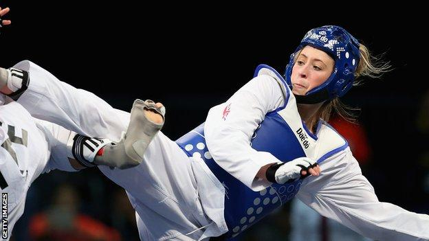 1a4e357b71822 Jade Jones has hit golden form just ahead of next month's World  Championships in Manchester.
