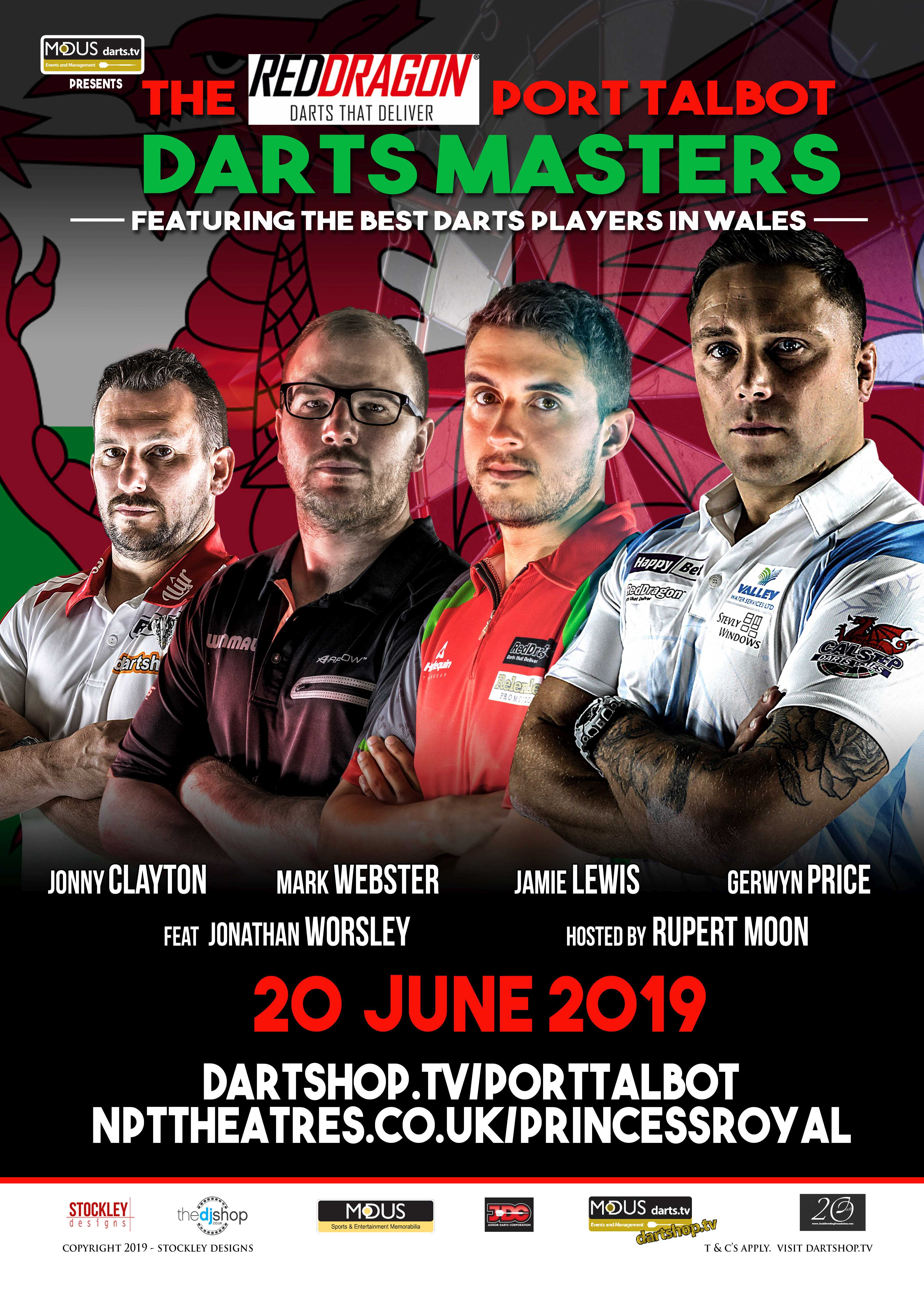 Darts Gerwyn Price Leads All-Welsh Top-Class Darts Line-Up In Port